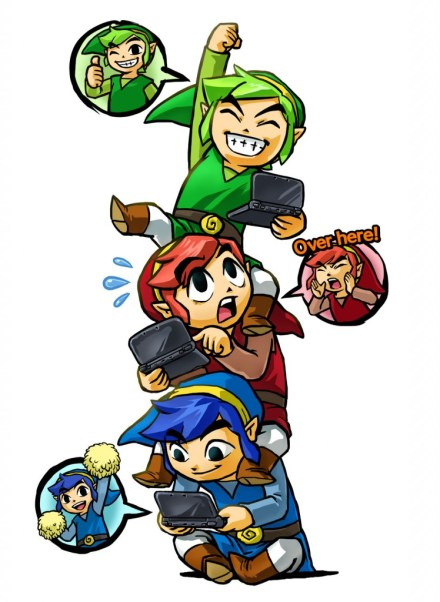 Triforce Heroes - Totem