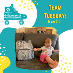 Walk on Wheels Team Tuesday: Team Zoe