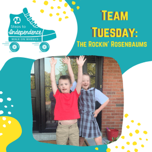 Walk on Wheels Team Tuesday: The Rockin' Rosenbaums