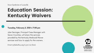 DSL Education Session: KY Waivers