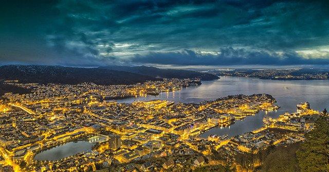 Natt i Bergen