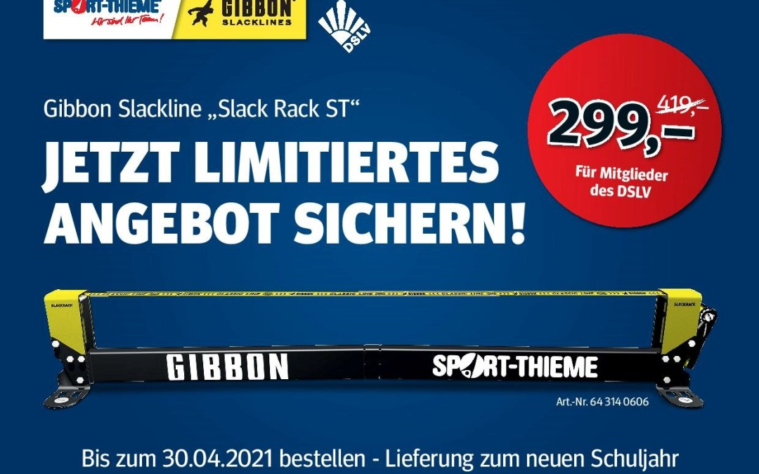 "Angebot – ""Gibbon Slackline ""Slack Rack ST"""