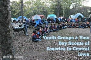 Boy Scouts of America in Central Iowa - dsm4kids.com