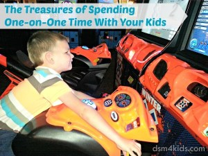 Ideas for Spending One-on-One Time with Your Kids - dsm4kids.com