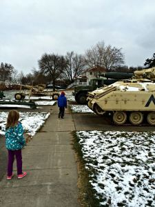 Family Fun Day At the Iowa Gold Star Military Museum - dsm4kids.com