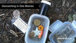 Geocaching in Des Moines - dsm4kids.com