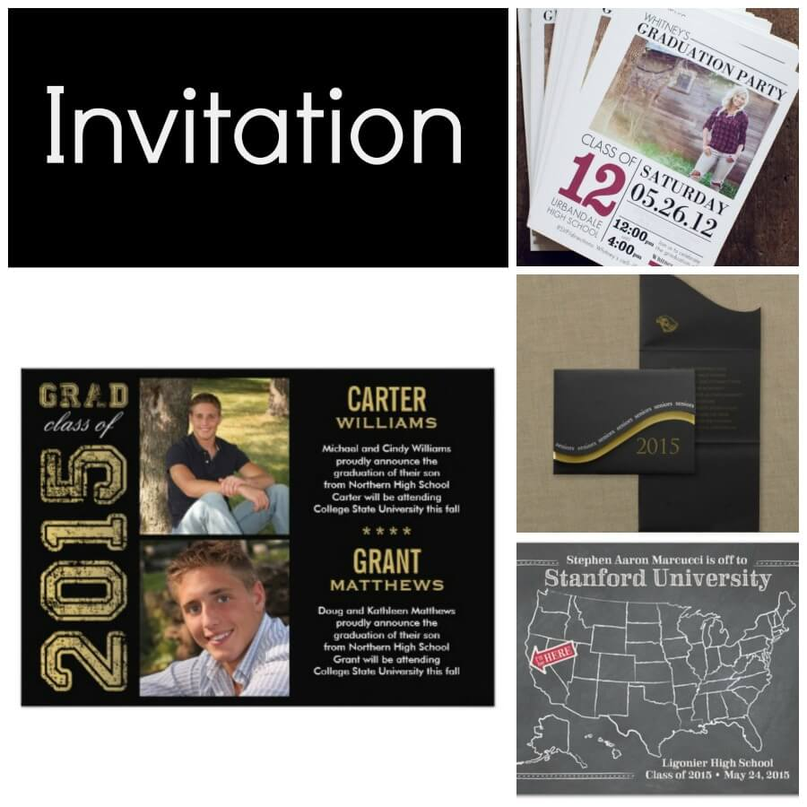 2015 Graduation Party Ideas dsm4kids – 2015 Graduation Party Invitations