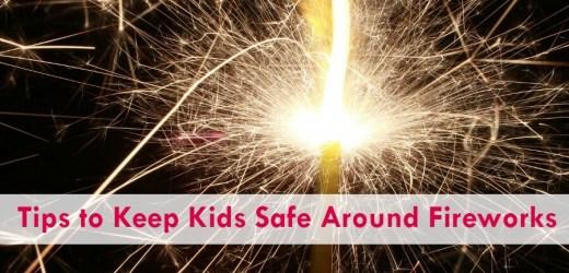 Tips to Keep Kids Safe Around Fireworks