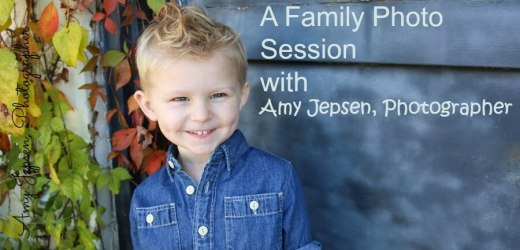 A Family Photo Session with Amy Jepsen, Photographer