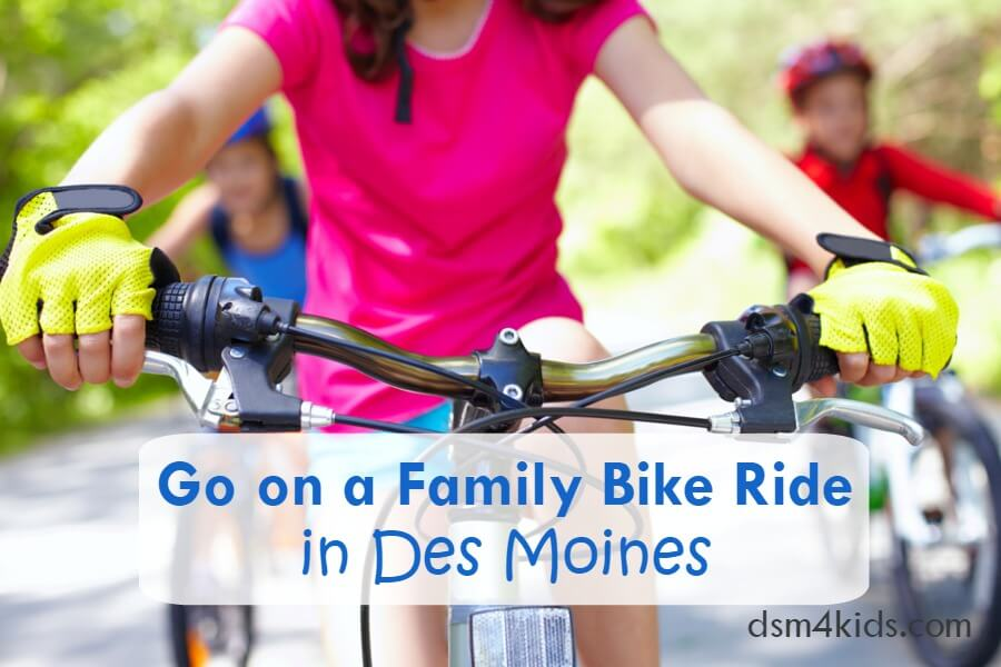 Go on a Family Bike Ride in Des Moines