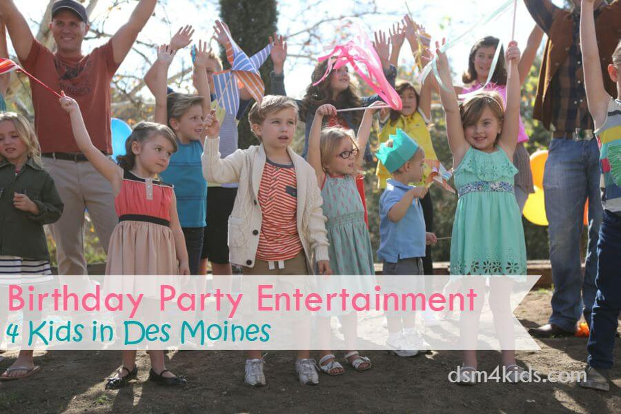 Birthday Party Entertainment 4 Kids in Des Moines