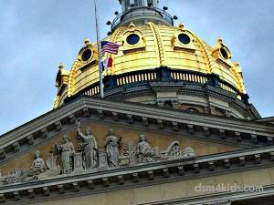 Tips 4 Family Fun Touring the Iowa State Capitol – dsm4kids.com