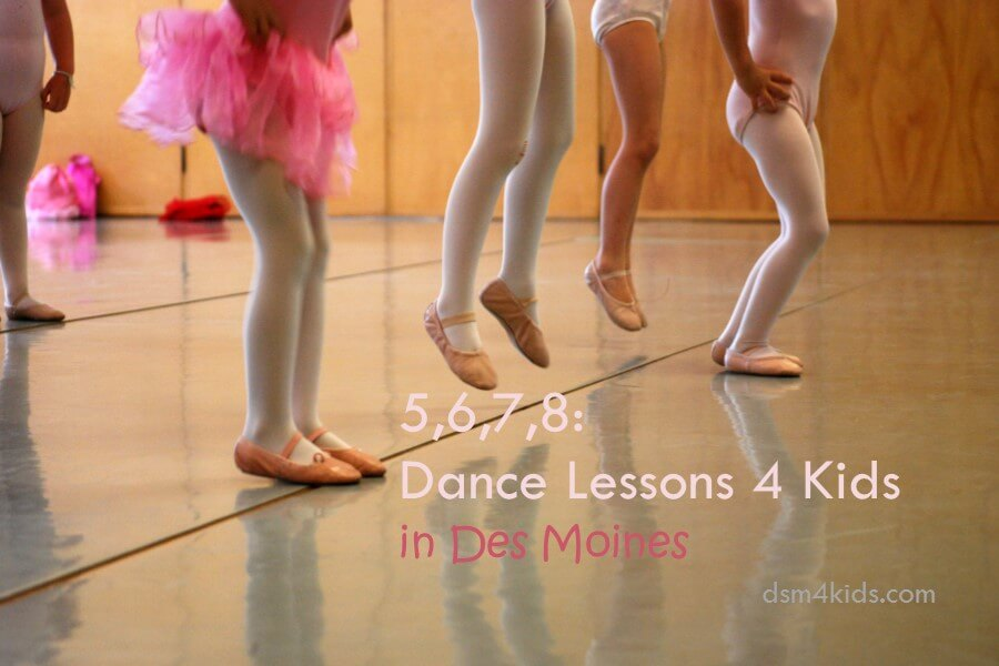 5,6,7,8: Dance Lessons 4 Kids in Des Moines