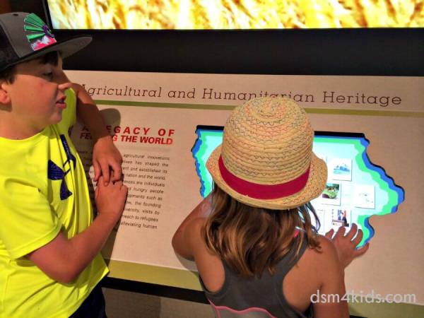 Tips 4 a Family Fun Day at The World Food Prize Hall of Laureates – dsm4kids.com