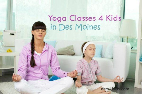 Yoga Classes 4 Kids in Des Moines - dsm4kids.com