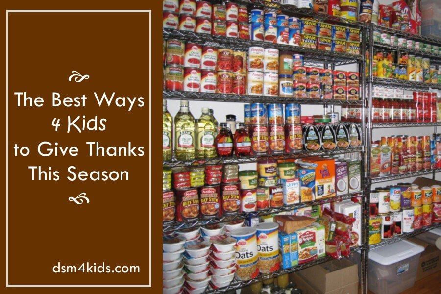 The Best Ways 4 Kids to Give Thanks This Season