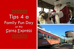 Tips 4 a Family Fun Day on the Santa Express - dsm4kids.com
