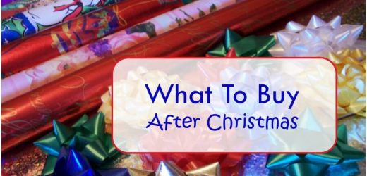 What To Buy After Christmas
