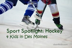 Sport Spotlight: Hockey 4 Kids in Des Moines - dsm4kids.com