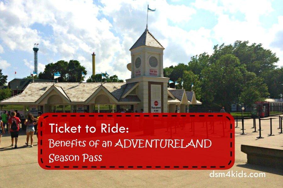 Ticket to Ride: Benefits of an Adventureland Season Pass