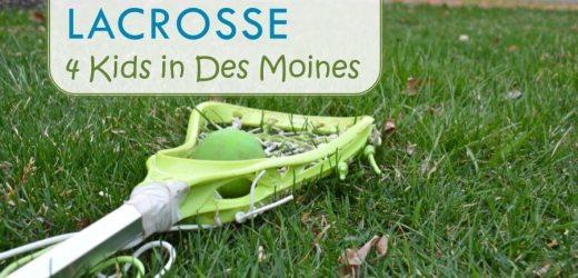 Sport Spotlight: Lacrosse 4 Kids in Des Moines