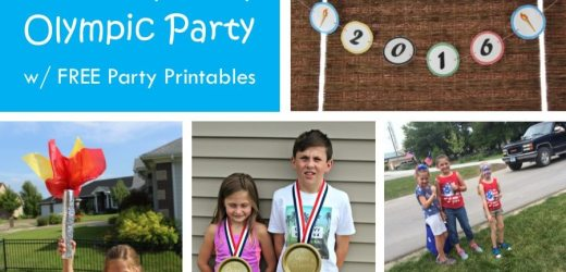 Host a Family Friendly Olympic Party