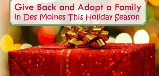 Give Back and Adopt a Family in Des Moines This Holiday Season