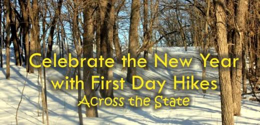 Celebrate the New Year with First Day Hikes Across the State