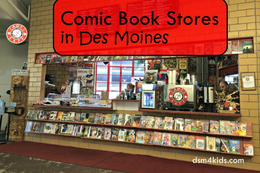Comic Book Stores in Des Moines