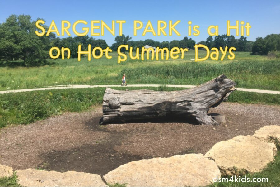 Sargent Park is a Hit on Hot Summer Days