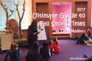 2017 Ultimate Guide to Fall Story Times in Des Moines - dsm4kids.com