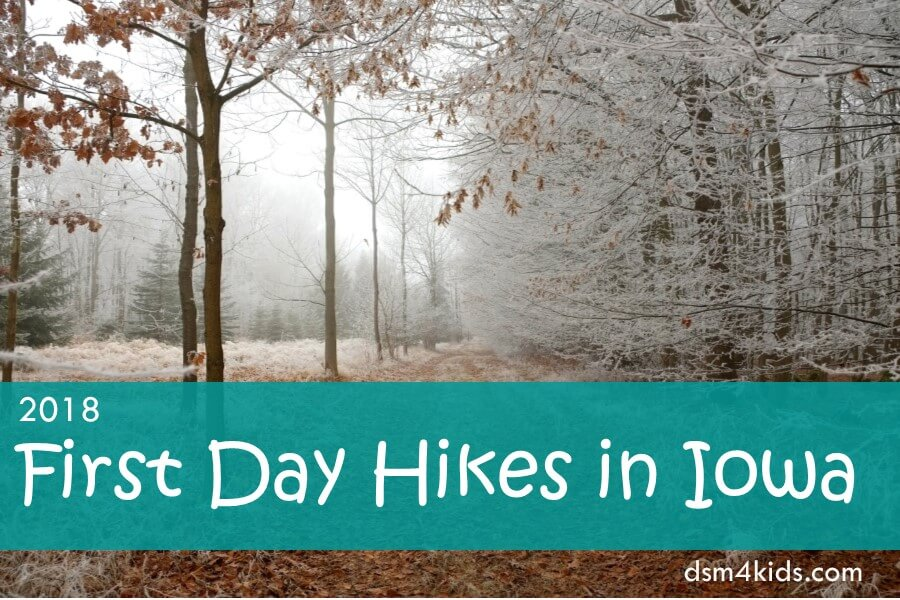 2018 First Day Hikes in Iowa