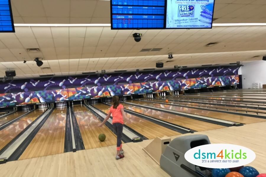 2018 FREE Summer Bowling Programs 4 Kids in Des Moines