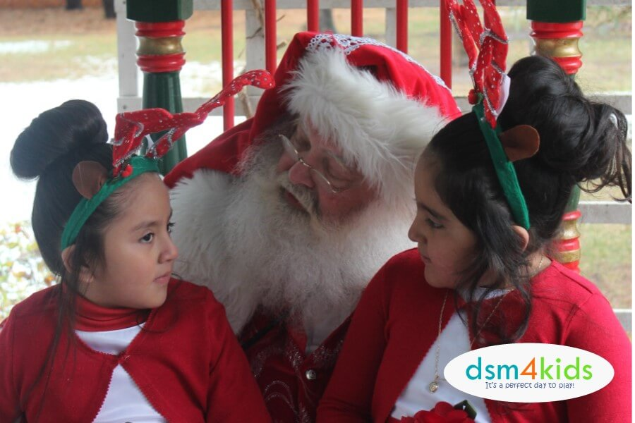 2018: The Best Places to Meet Santa in Des Moines