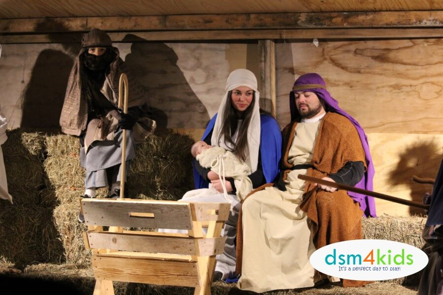 2018: Guide to Nativity Events in Des Moines