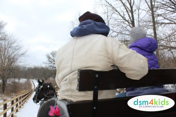 It's Lovely Weather for a Sleigh Ride Together at Jester Park Equestrian Center – dsm4kids.com