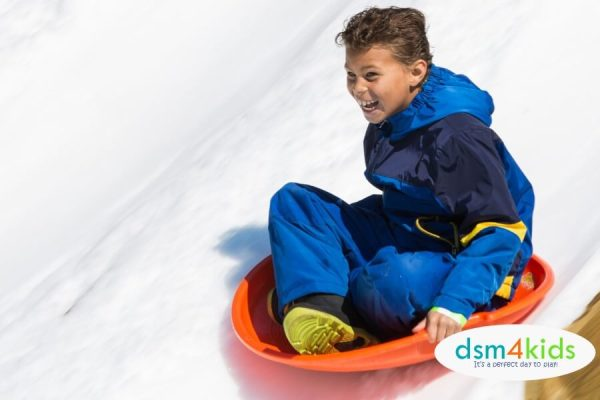 2019: The Best Family Sledding Spots around Des Moines - dsm4kids.com