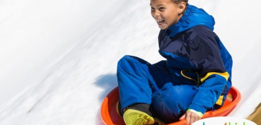 2019: The Best Family Sledding Spots around Des Moines