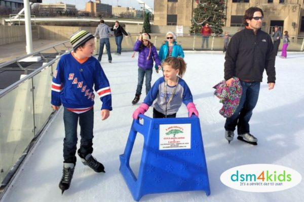 Take the Family Ice Skating at Brenton Skating Plaza this Winter in Des Moines – dsm4kids.com
