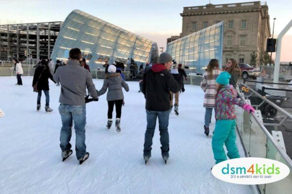 Take the Family Ice Skating at Brenton Skating Plaza this Winter in Des Moines – dsm4kids.com