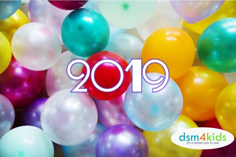 2018:  New Year's Eve Celebrations 4 Kids & Families in Des Moines