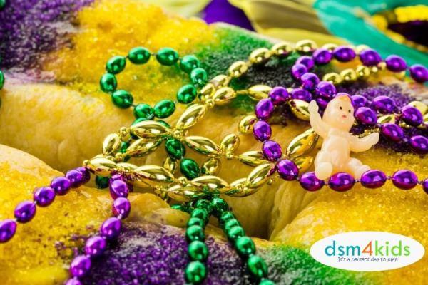 Sweetn' up Mardi Gras in Des Moines – dsm4kids.com