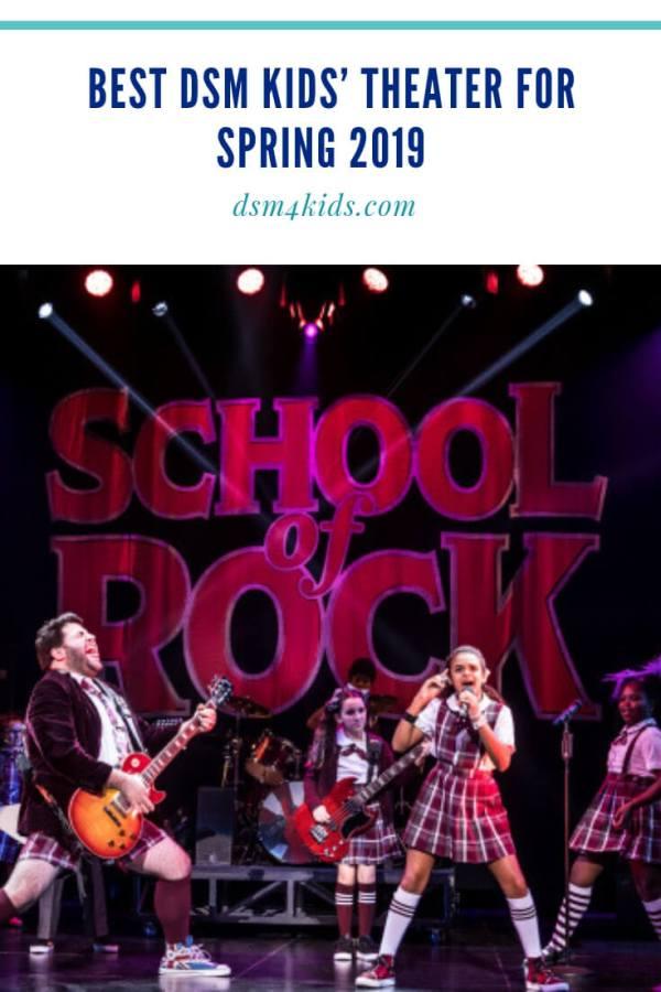 Best DSM Kids' Theater for Spring 2019 – dsm4kids.com