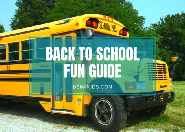 Back To School Fun Guide