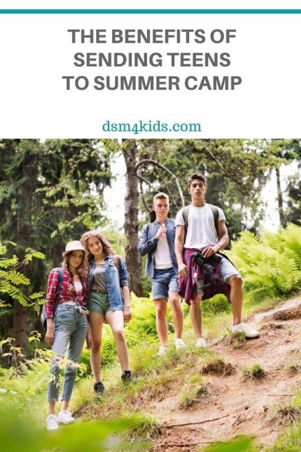 The Benefits of Sending Teens to Summer Camp – dsm4kids.com