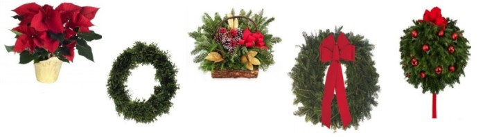 This image has an empty alt attribute; its file name is wreaths.jpg