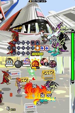 Cross Stride Battle System