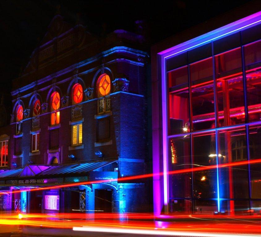 #LightUpWakefield – Theatre Royal Wakefield 2020