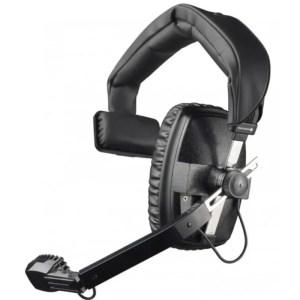 Beyerdynamic DT108 Single Muff Headset in Black event comms hire