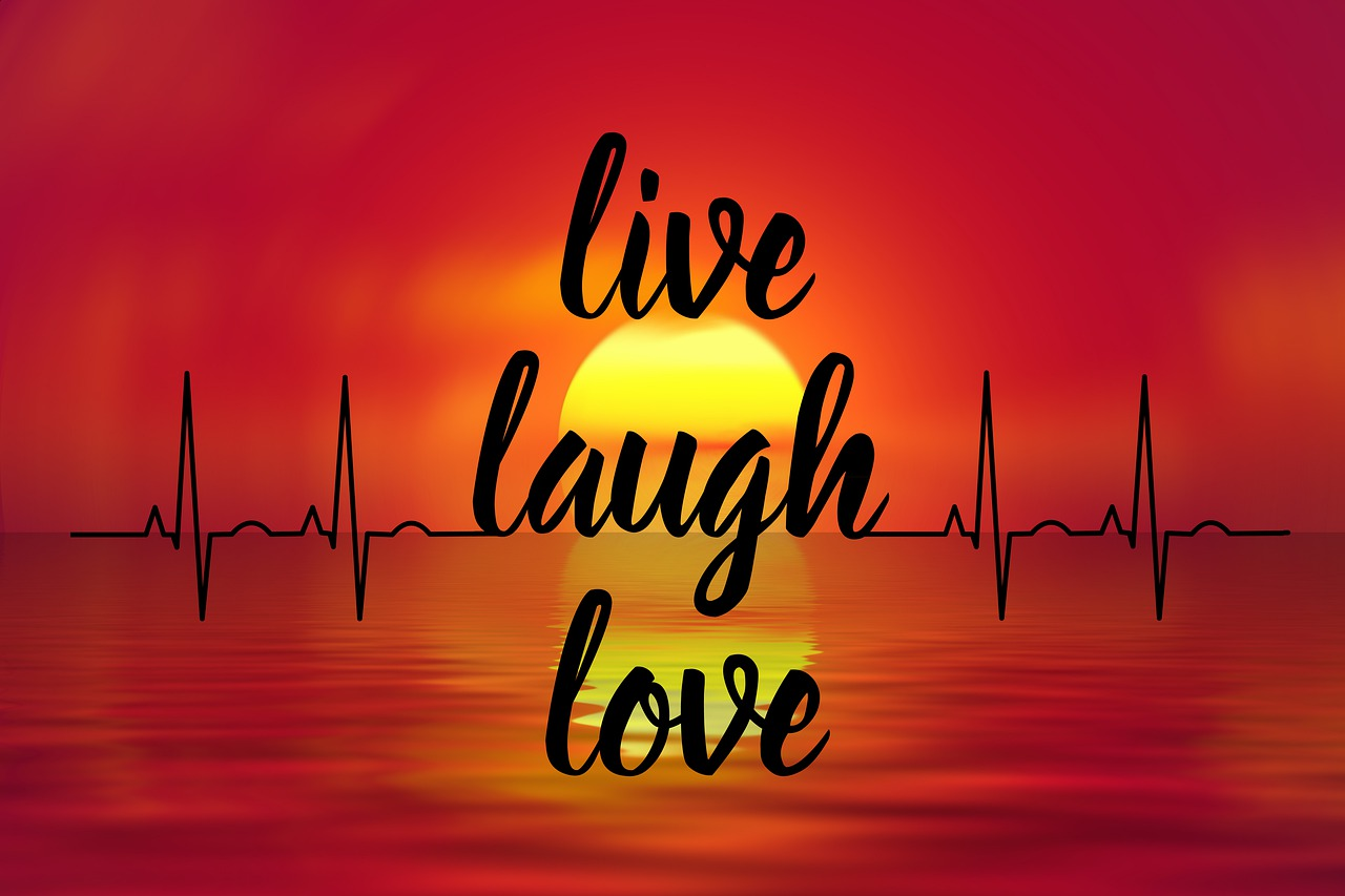 Keep chasing your dreams - live, laugh, love inspirational quote